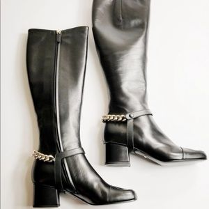 Authentic Gucci Lifford Malaga Knee-high Boots